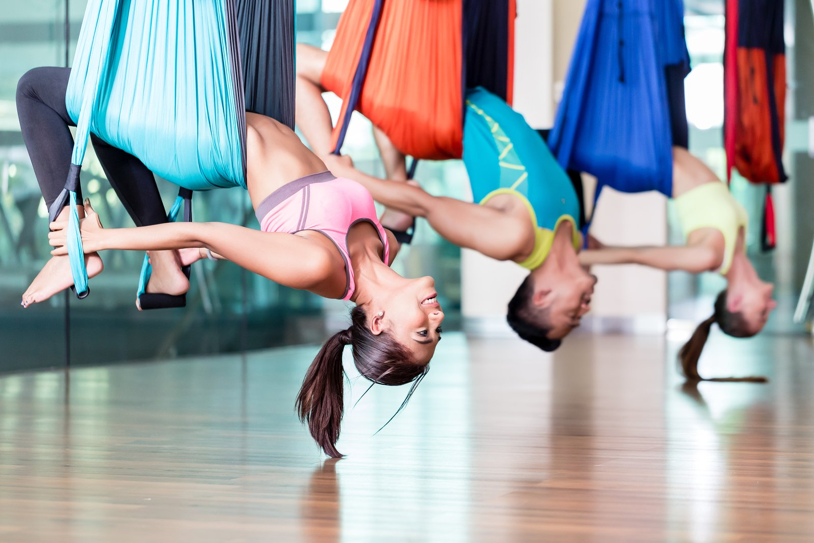 Aerial Yoga Teacher Training - Ilina Yoga School Rishikesh ...