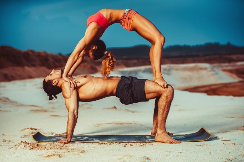 AcroYoga: Yoga For Power Duos